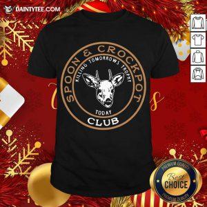 Spoon And Crockpot Club Shirt- Design By Daintytee.com