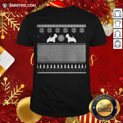 Westie Green Christmas Shirt- Design By Daintytee.com