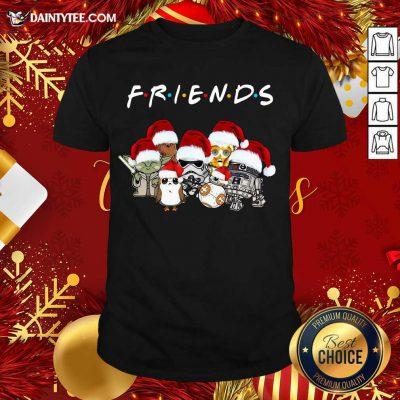 Star Wars Darth Vader Baby Yoda And Friends Christmas Long Sleeve Shirt- Design By Daintytee.com