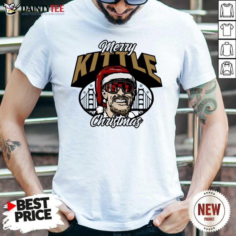 George Kittle Merry Kittle Christmas Shirt- Design By Daintytee.com
