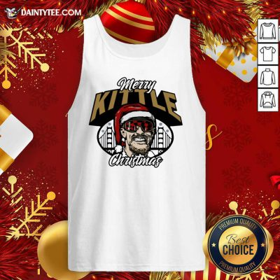 George Kittle Merry Kittle Christmas Tank Top- Design By Daintytee.com