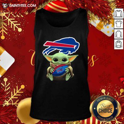 Baby Yoda Hug Buffalo Bills Football Tank Top- Design By Daintytee.com