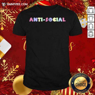 Brennen Taylor Merch Anti-Social Classic Bt Shirt- Design By Daintytee.com