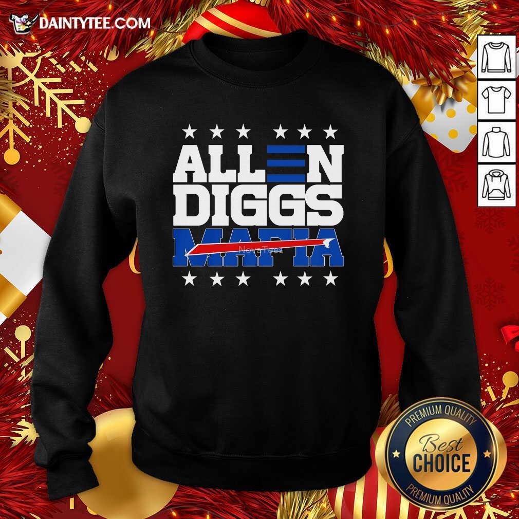 Allen Diggs 2020 Bills Mafia Sweatshirt- Design By Daintytee.com