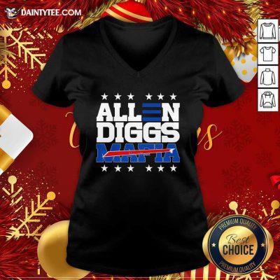 Allen Diggs 2020 Bills Mafia V-neck- Design By Daintytee.com