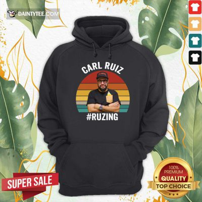 Carl Ruiz Ruzing Vintage Hoodie- Design By Daintytee.com