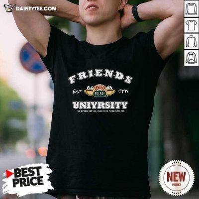 Friends Est 1994 Central Perk Uniyrsity Shirt- Design By Daintytee.com