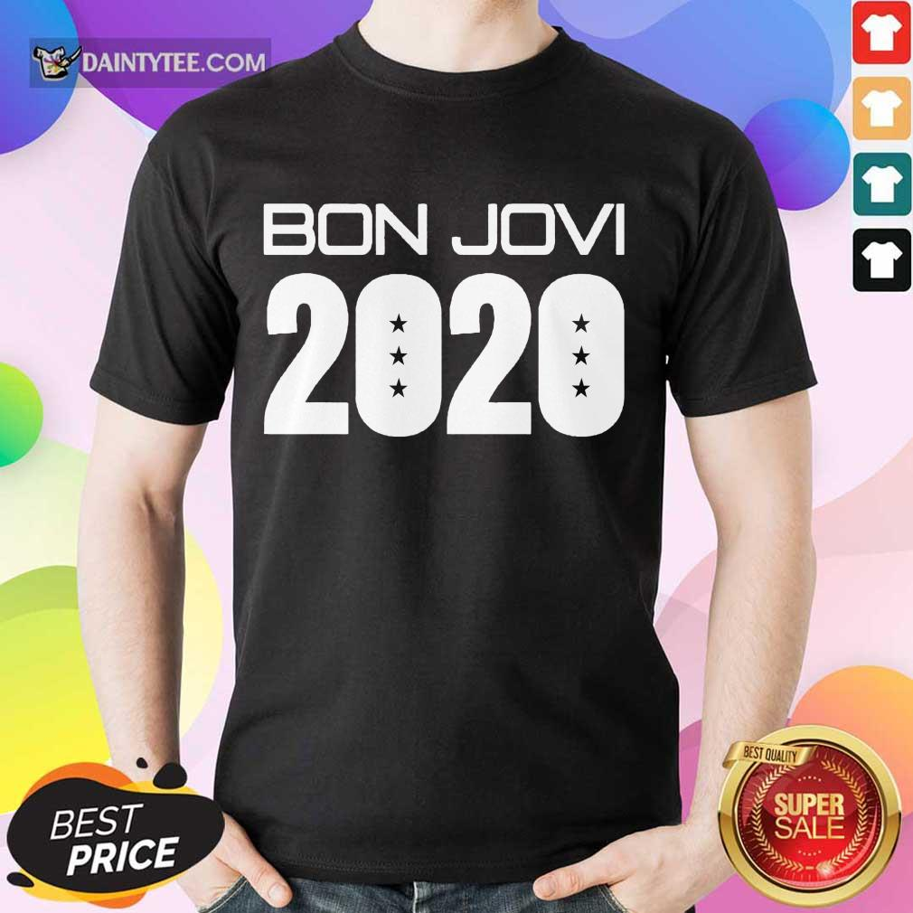 Funny Jerry Braden Bon Jovi 2020 Enthusiastic Shirt