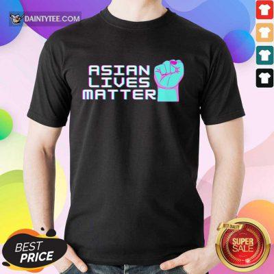 Good Asian Lives Matter Retro Positive Shirt