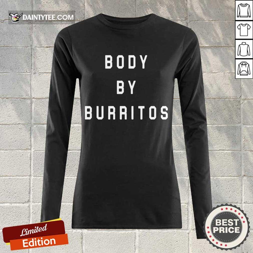 Good Body By Burritos Over The Moon 45 Long-sleeved