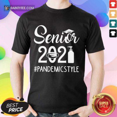 Perfect Seniors 2021 Pandemic Shirt