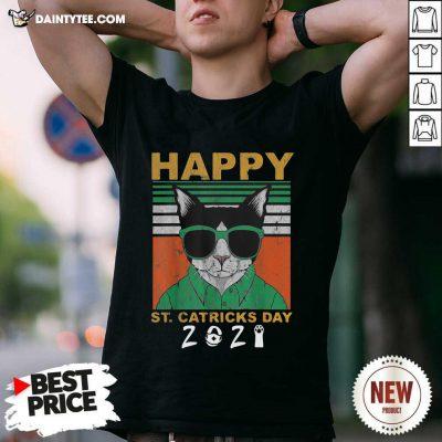 Happy St Catricks Day 2021 Patricks Day Vintage Shirt- Design By Daintytee.com