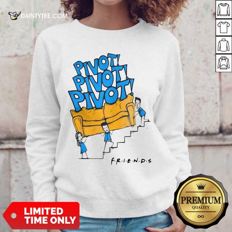 Awesome Friends Tv Show Pivot Sweater