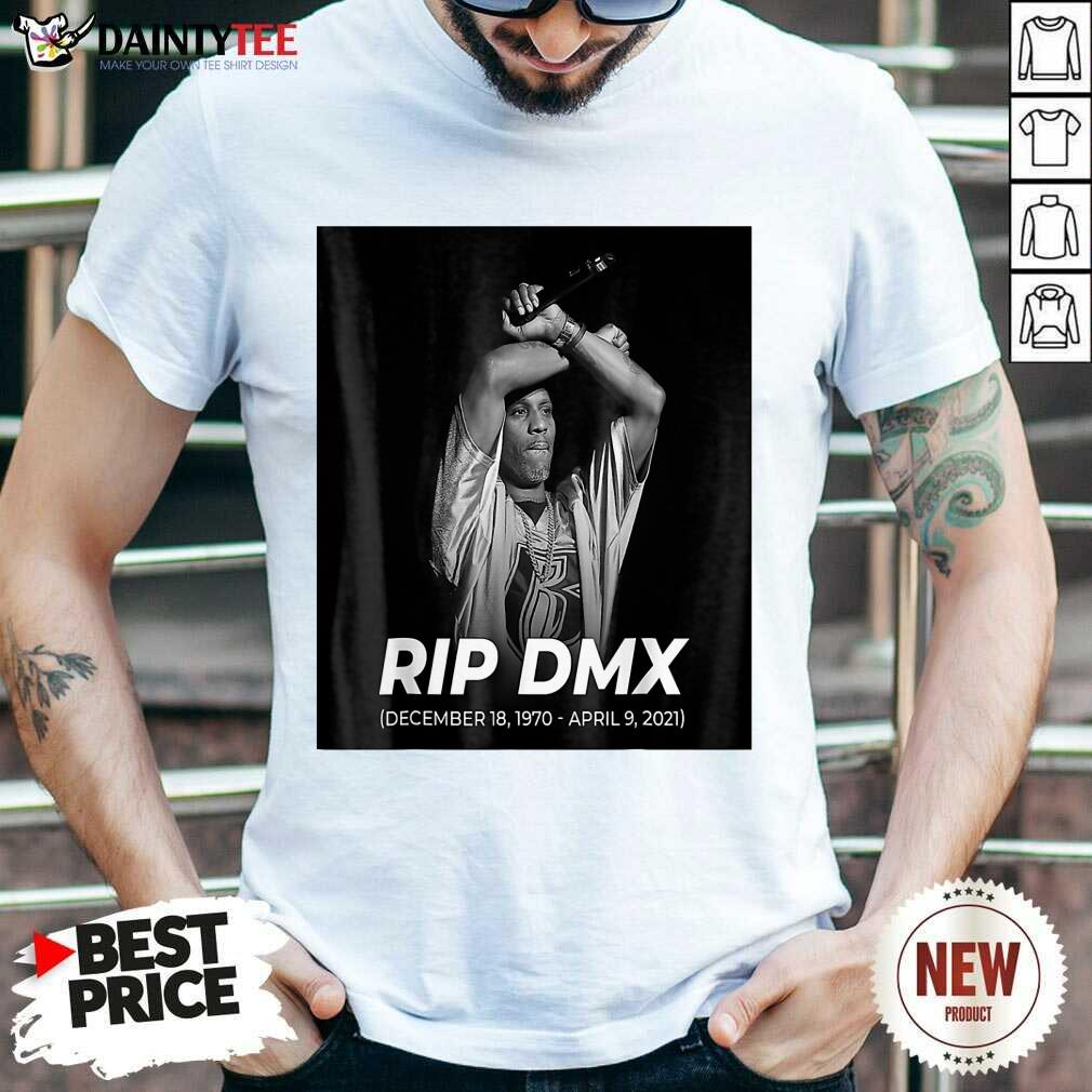 Awesome RIP DMX Rapper Shirt