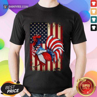 Original Chicken Flag American Shirt