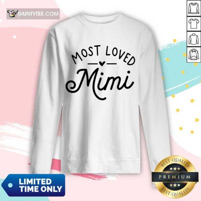 Pretty Most Loved Mimi Long-sleeved