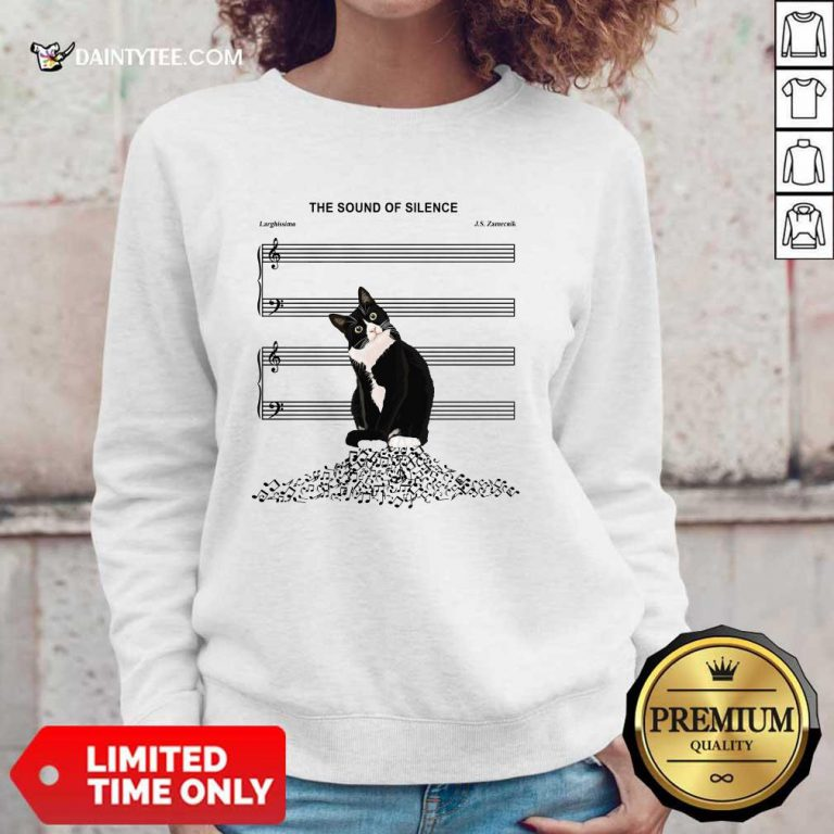 Cats And Music The Sound Of Silence Sweater