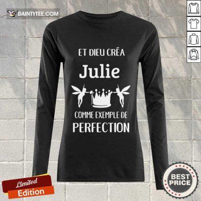 Julie Comme Exemple De Perfection Long-sleeved