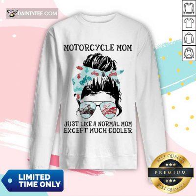 Motorcycle Bun Mom Long-sleeved