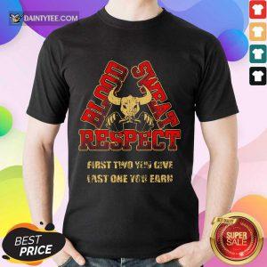 Weightlifting Blood Sweat Respect Shirt