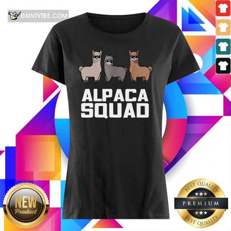 Alpaca Squad Ladies Tee