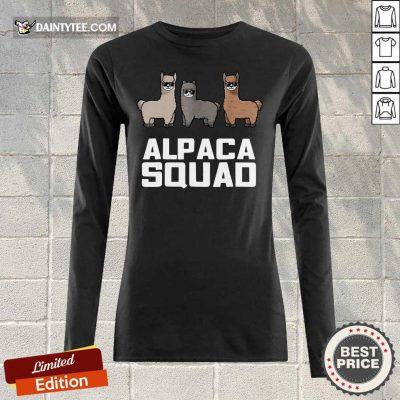 Alpaca Squad Long-sleeved