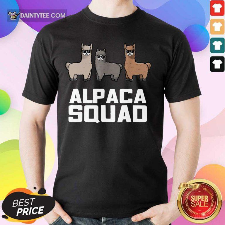 Alpaca Squad Shirt