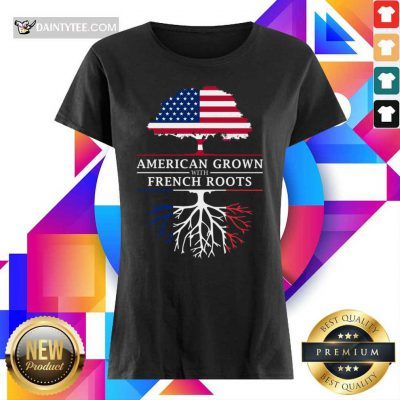 American Grown French Roots Ladies Tee