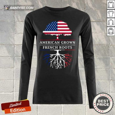 American Grown French Roots Long-sleeved