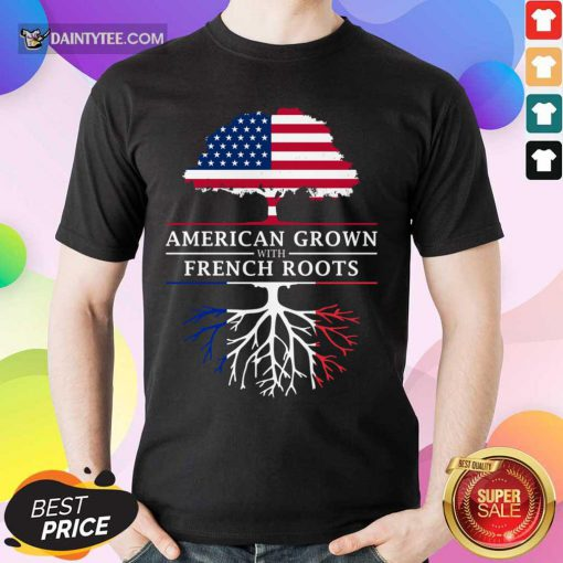 American Grown French Roots Shirt