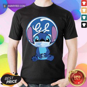 Baby Stitch Face Mask Hug GF Logo Shirt