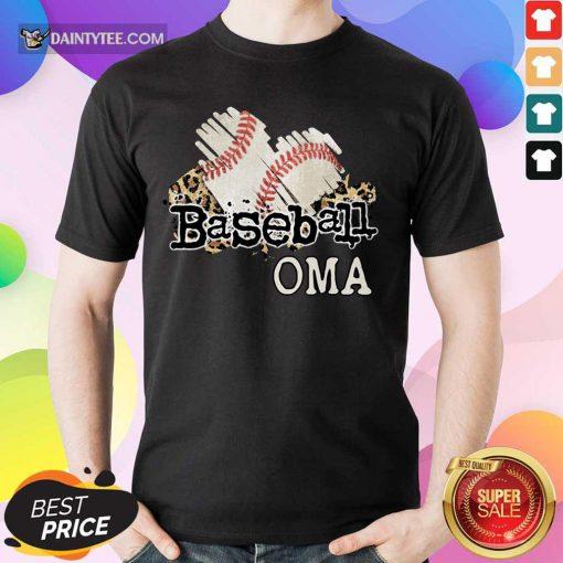 Baseball Oma Shirt