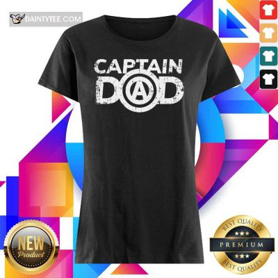 Captain Dad Ladies Tee