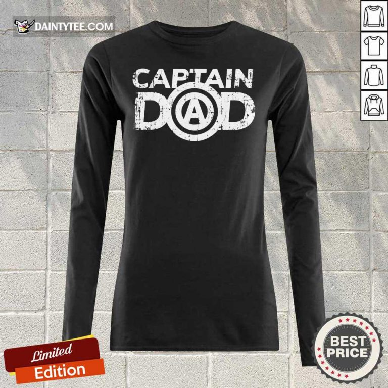 Captain Dad Long-sleeved