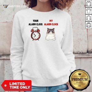 Cat Your Alarm Clock Buttercup Sweater