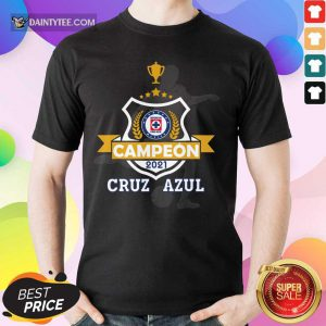 Cruz Azul Campeon 2021 Football Mexico Shirt