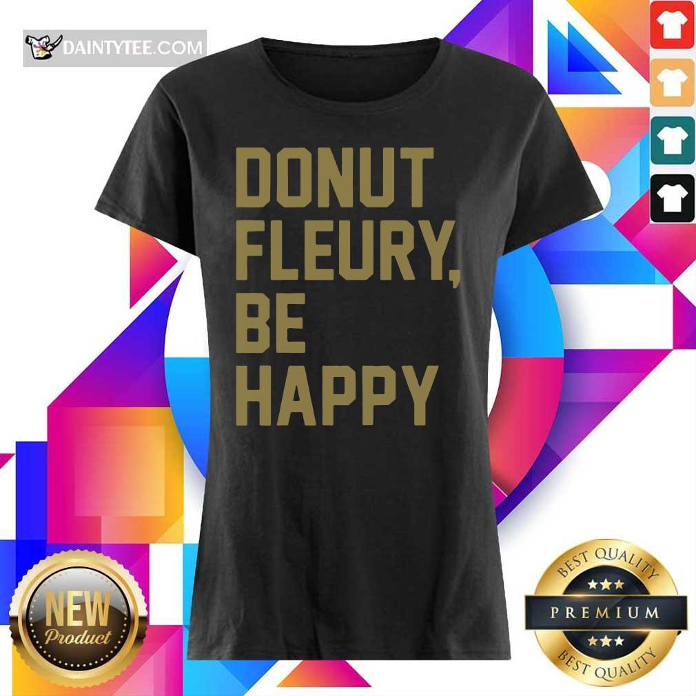 Donut Fleury Be Happy Ladies Tee