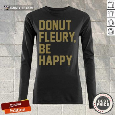 Donut Fleury Be Happy Long-sleeved