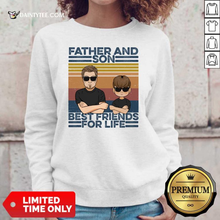 Father And Son Best Friends For Life Sweater