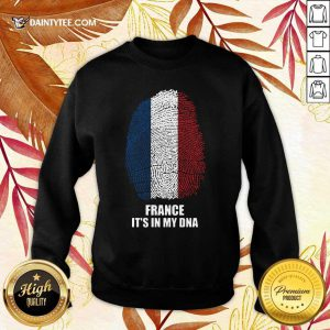 France Flag It's In My DNA Sweater