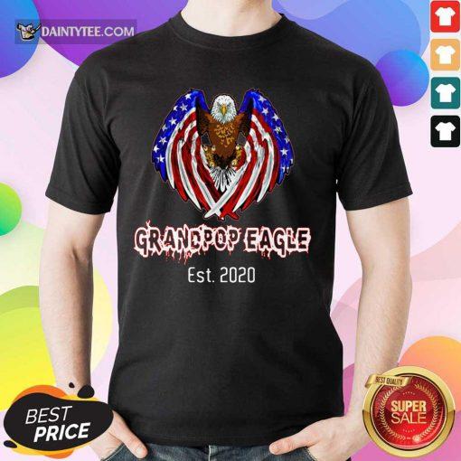Grandpop Eagle American 2020 Shirt