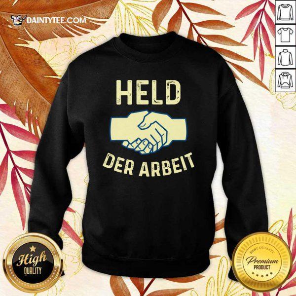 Held Der Arbeit Shake Hands Sweater