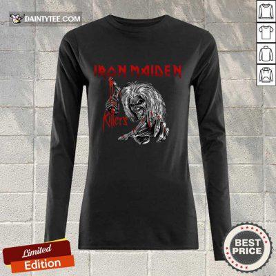 Iron Maiden Killers Long-sleeved