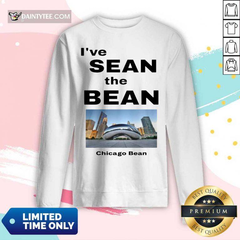 I've Sean The Bean Chicago Bean Long-sleeved