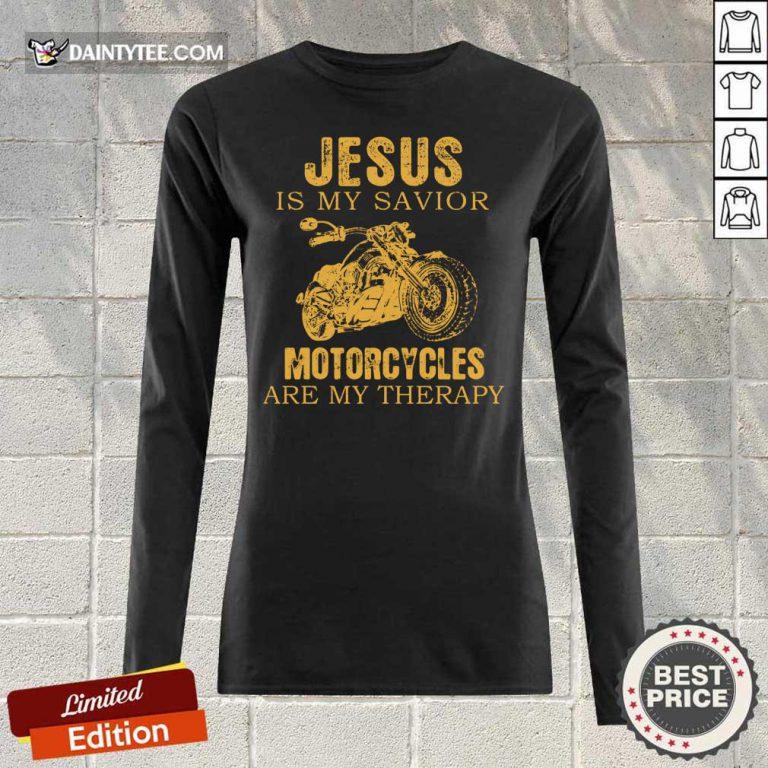 Jesus Is My Savior Motorcycles Long-sleeved