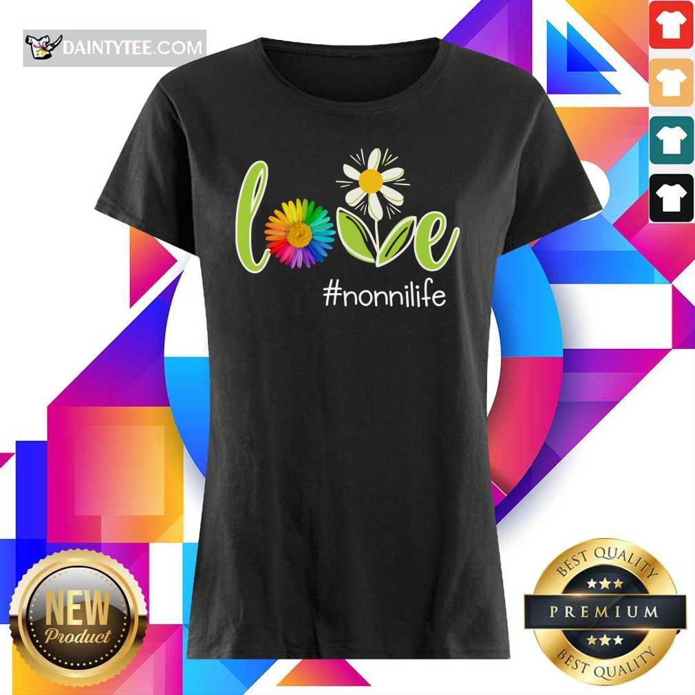 Love Nonni Life Flower Artistry Ladies Tee