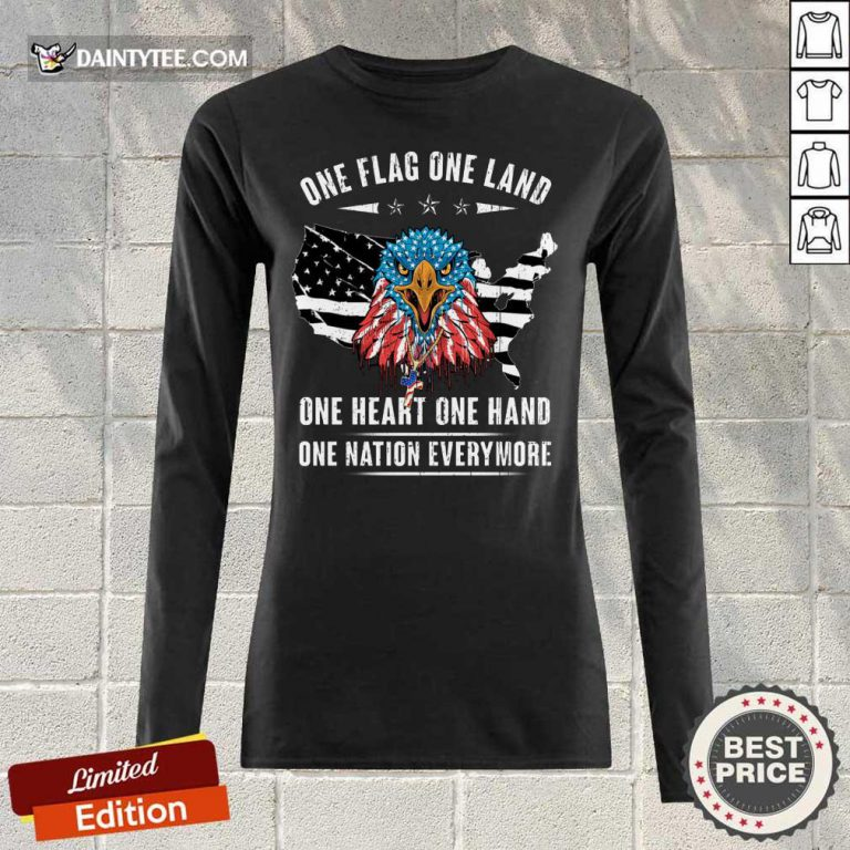 One Flag One Land One Heart One Hand Long-sleeved