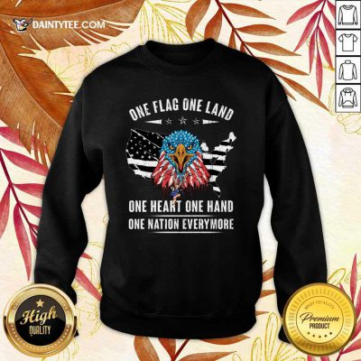 One Flag One Land One Heart One Hand Sweater