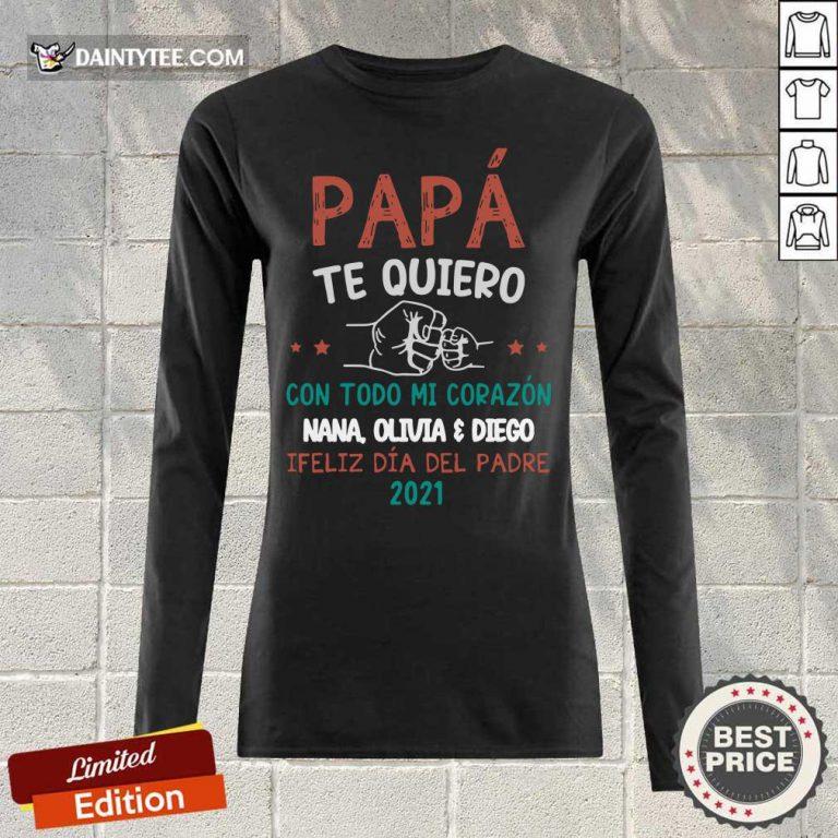 Pa Pá Te Quiero 2021 Long-sleeved