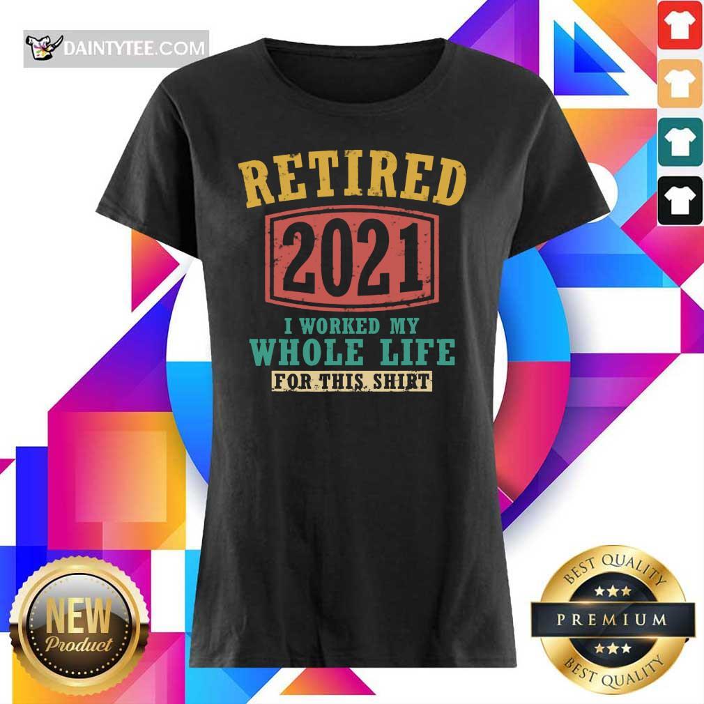 Retired 2021 Whole Life Ladies Tee